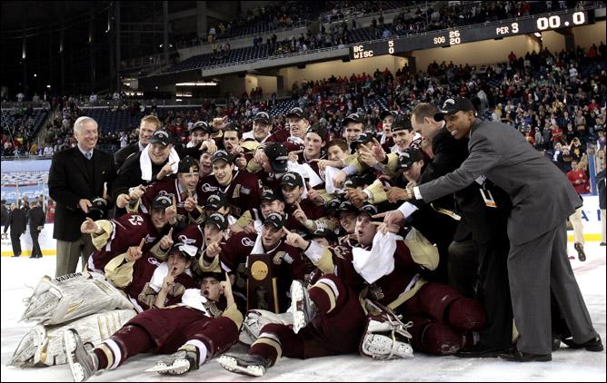 Хоккей. 2010. Бостонский колледж - чемпион NCAA. Фото 08.