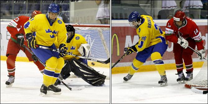 14.04.2010. Чемпионат мира U-18. Швеция - Белоруссия - 7:0. Фото 01.