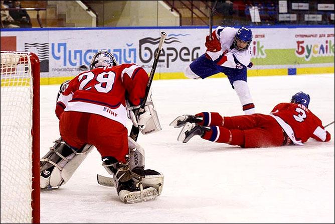 14.04.2010. Чемпионат мира U-18. Чехия - Словакия - 4:3. Фото 01.