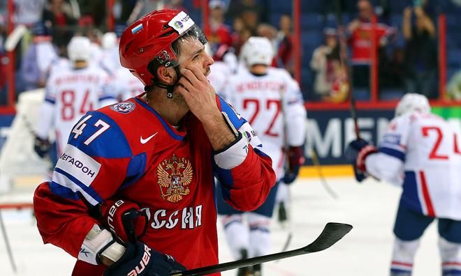 9 мая 2013 года. Чемпионат мира. Групповой этап. Россия — Франция — 1:2