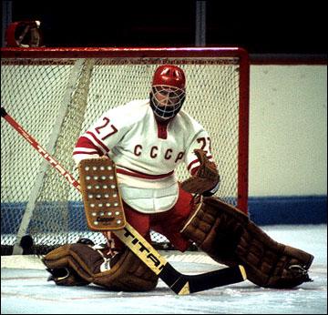 В последнем, восьмом, матче ворота сборной СССР защищал Александр Сидельников