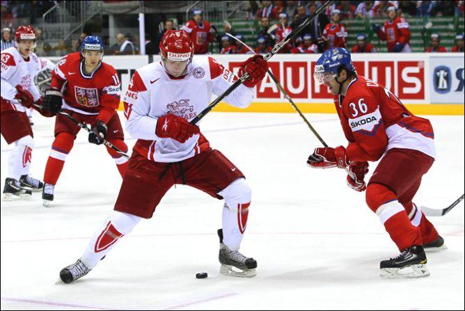 4 мая 2011 года. Братислава. Чемпионат мира. Дания — Латвия — 3:2 ПБ