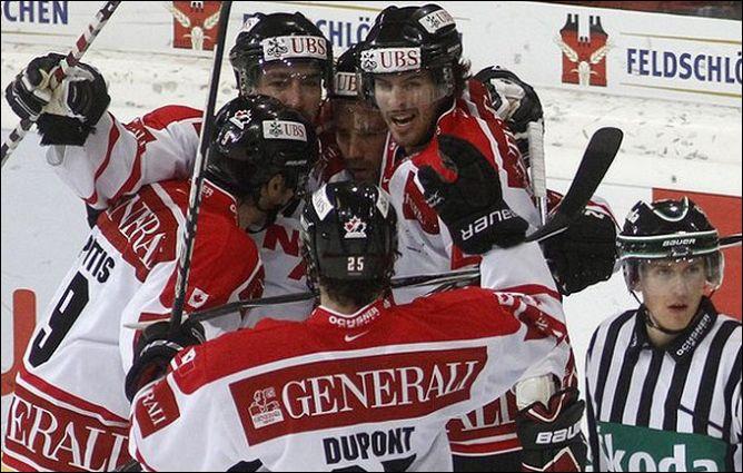 "30 декабря 2010 года. Кубок Шпенглера. 1/2 финала. ""Давос"" - сборная Канады - 0:4."