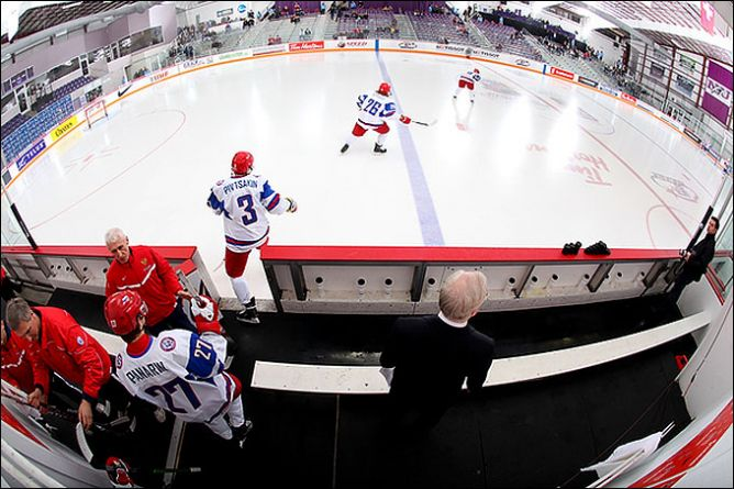 31 декабря 2010 года. Ниагара. Молодежный чемпионат мира. Россия - Норвегия - 8:2.