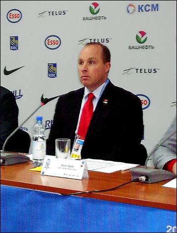 Главный тренер молодежной сборной Канады Cтив Спотт