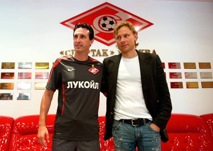 Унаи Эмери и Валерий Карпин