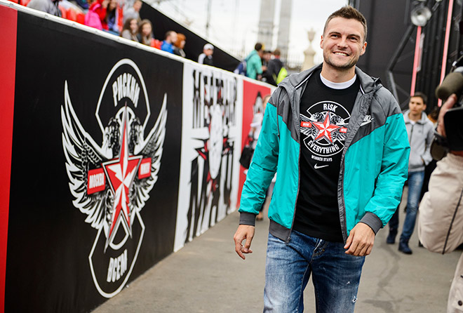Владимир Гранат на турнире дворовых команд