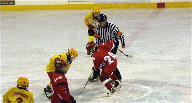 Международный детский хоккейный турнир в Чехии.