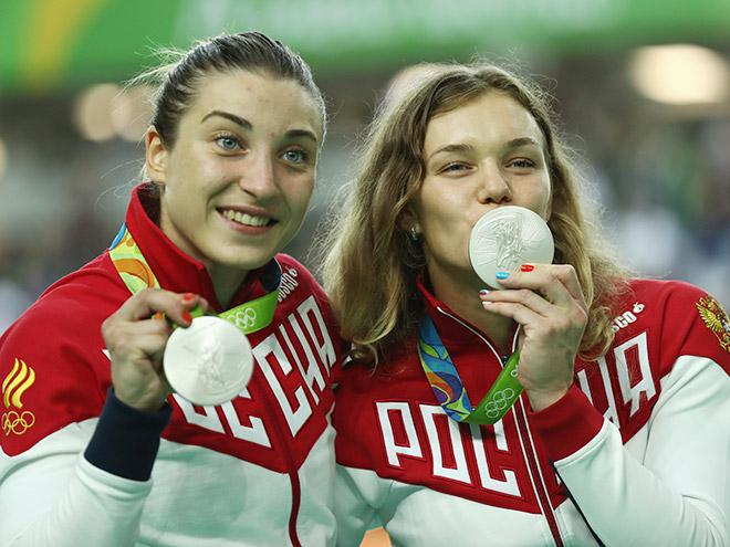 Дарья Шмелёва и Анастасия Войнова