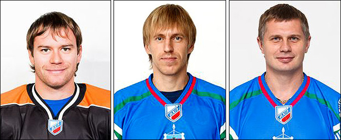 Слева направо: Сергей Тополь, Илья Докшин и Евгений Сапожков