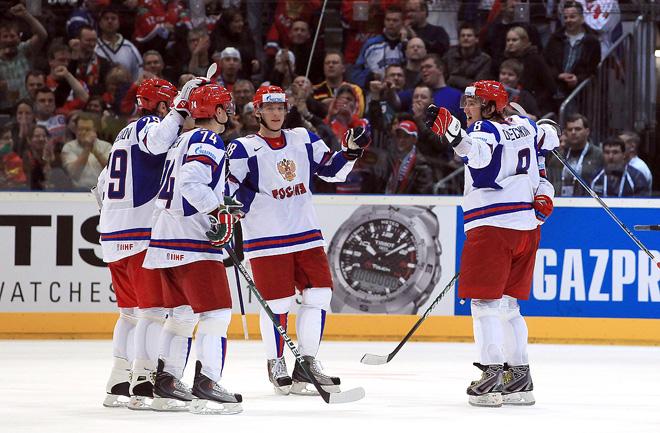 9 мая 2010 года. Чемпионат мира. Групповой этап. Россия — Словакия — 3:1