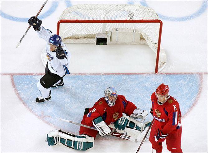 24 февраля 2006 года. Турин. 1/2 финала. Финляндия - Россия - 4:0.