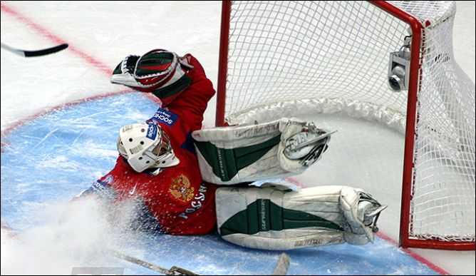 12 мая 2007 года. Москва. 1/2 финала. Россия - Финляндия - 1:2 ОТ.