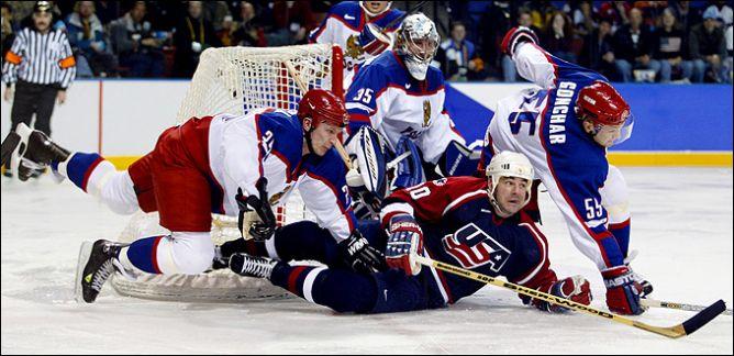 22 февраля 2002 года. Солт-Лейк-Сити. 1/2 финала. Россия - США - 2:3.