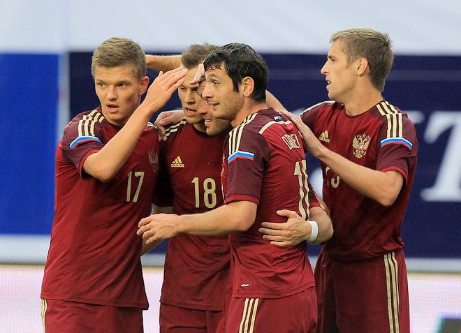 Россия — Азербайджан — 4:0