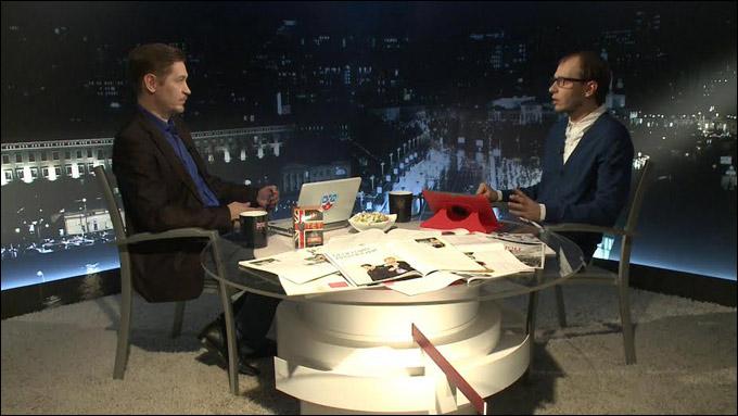 """Сергей Федотов в гостях у """"Трибуны"""" Романа Чернявского"""