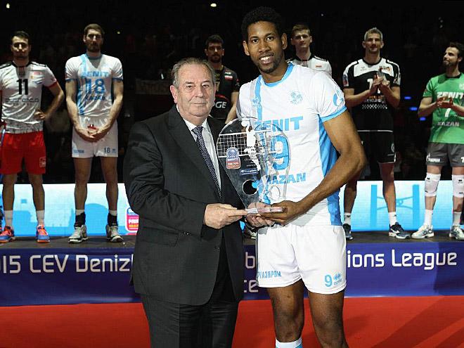 Вильфредо Леон стал лучшим игроком «Финала четырёх»