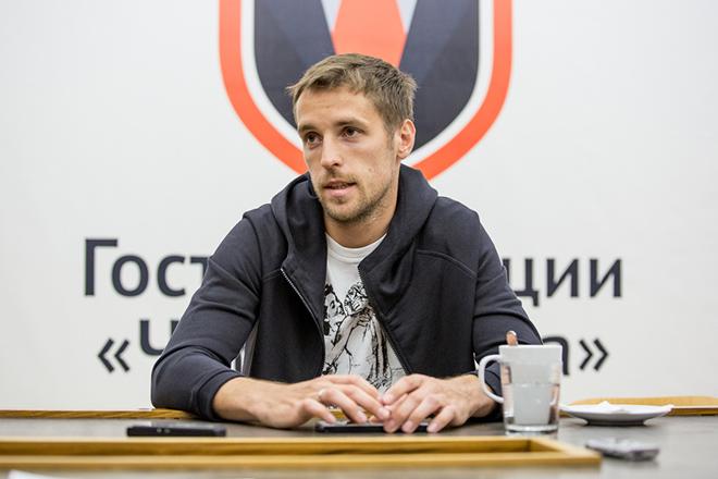 Дмитрий Комбаров в гостях у «Чемпионата»