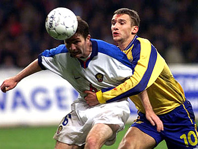 1999 россия украина футбол
