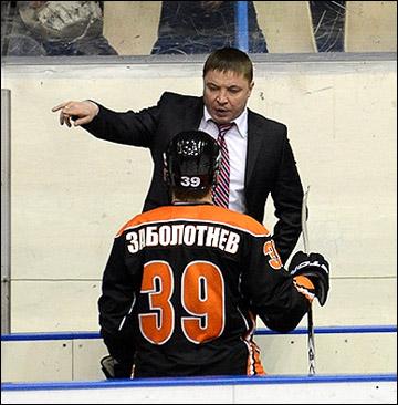 Александр Гулявцев во время матча