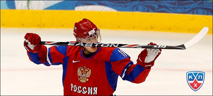Чемпион мира Евгений Малкин