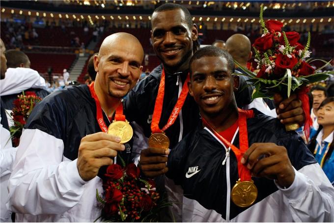 Джейсон Кидд на Олимпиаде в Пекине