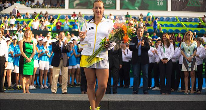 Анастасия Павлюченкова в третий раз покорила Монтеррей