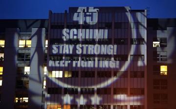Акция в поддержку Михаэля Шумахера