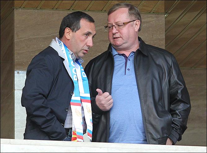 Евгений Гинер и Сергей Степашин