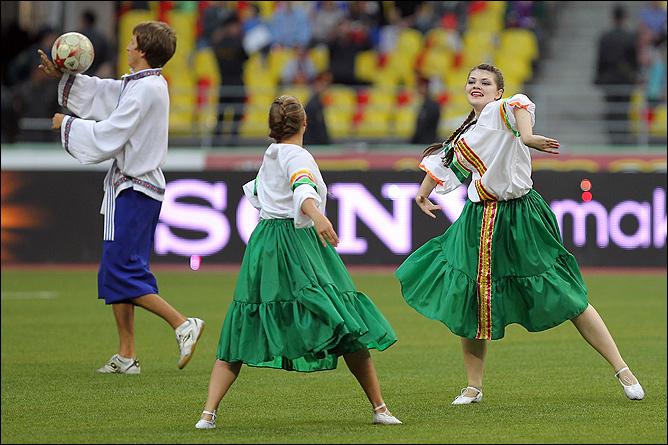 Группа поддержка сборной России