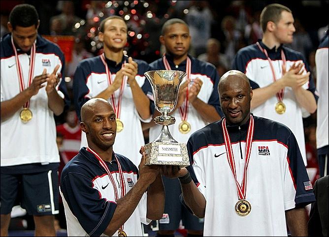 Чонси Биллапс и Ламар Одом - чемпионы мира-2010
