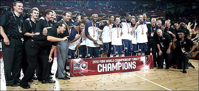 Сборная США по баскетболу - чемпионы мира-2010