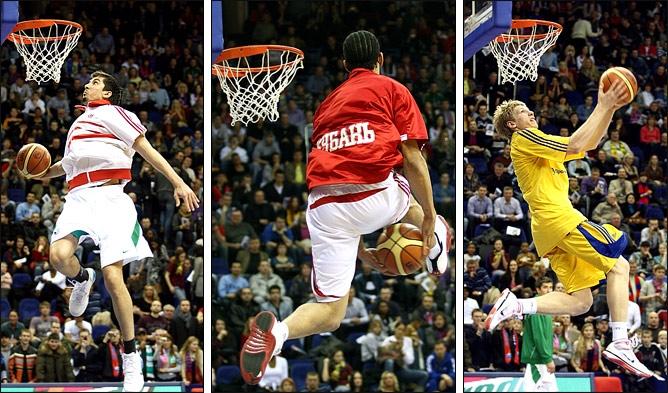 Russian Slam Dunk Contest-2010: Вячеслав Зайцев, Джеральд Грин и Игорь Ткаченко