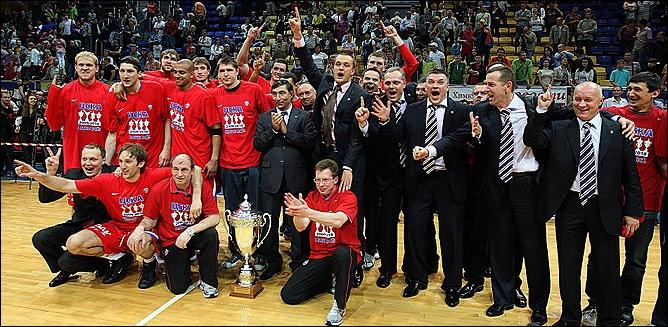 ПБК ЦСКА (Москва) - чемпион России сезона-2009/10