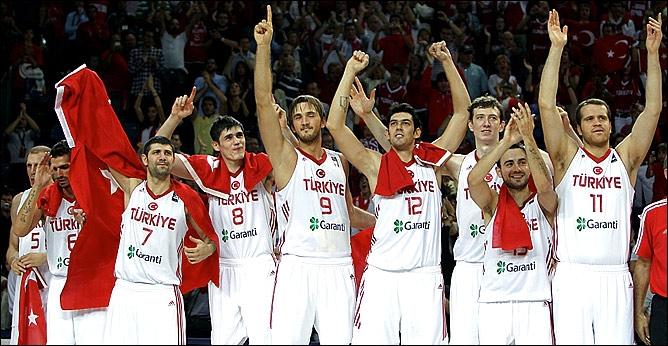 Сборная Турции по баскетболу - серебрянный призёр чемпионат мира-2010