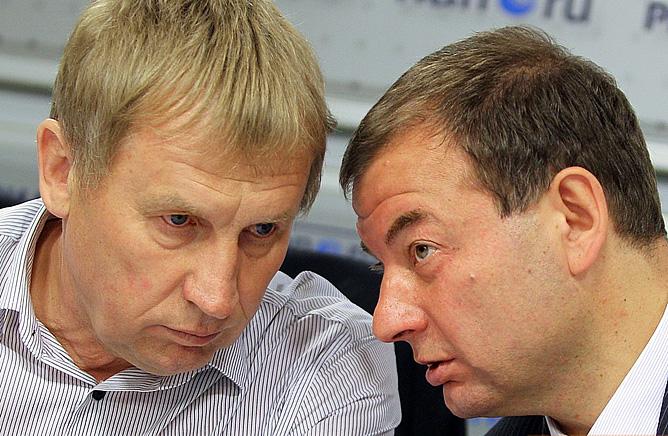 Валерий Польховский и Сергей Кущенко