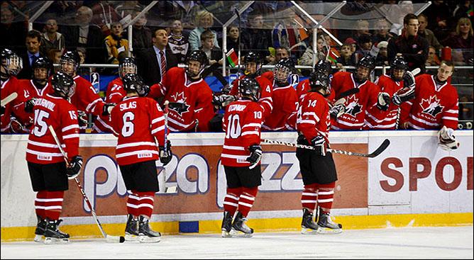 15.04.2010. Чемпионат мира U-18. Белоруссия - Канада - 3:11. Фото 03.