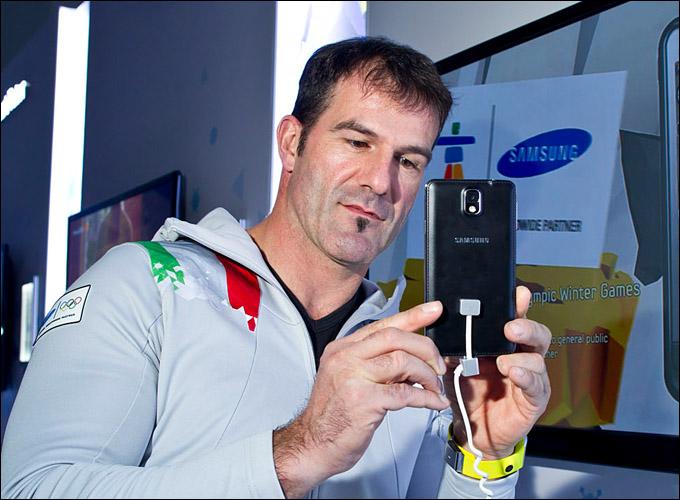 Армин Цоггелер на мероприятии Samsung
