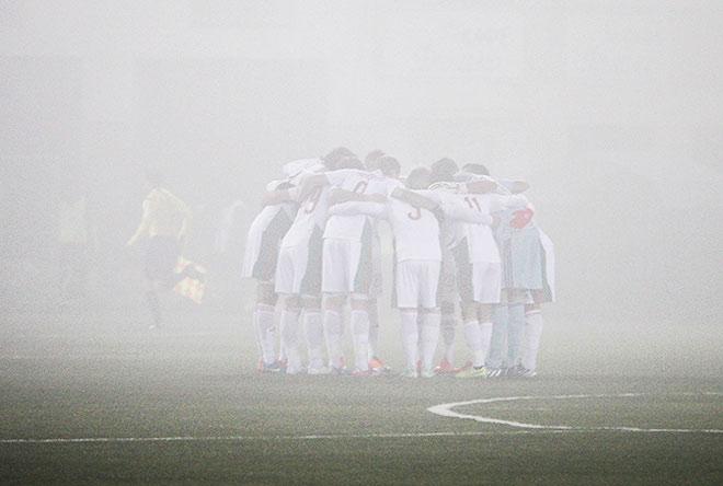 Туман в Уфе