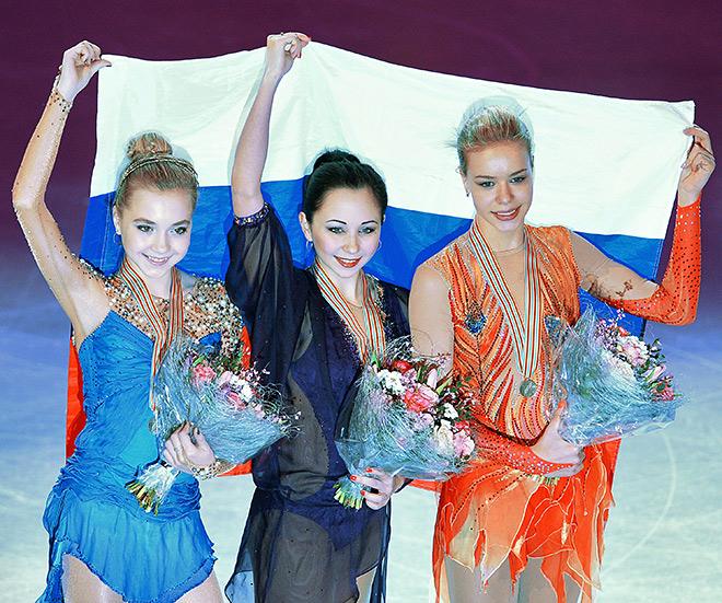 Елизавета Туктамышева, Елена Радионова, Анна Погорилая