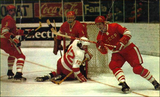 Хоккей. История чемпионатов мира. ЧМ-1976-1977. Фото 02.