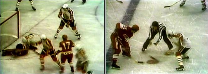 Хоккей. История чемпионатов мира. ЧМ-1976-1977. Фото 07.
