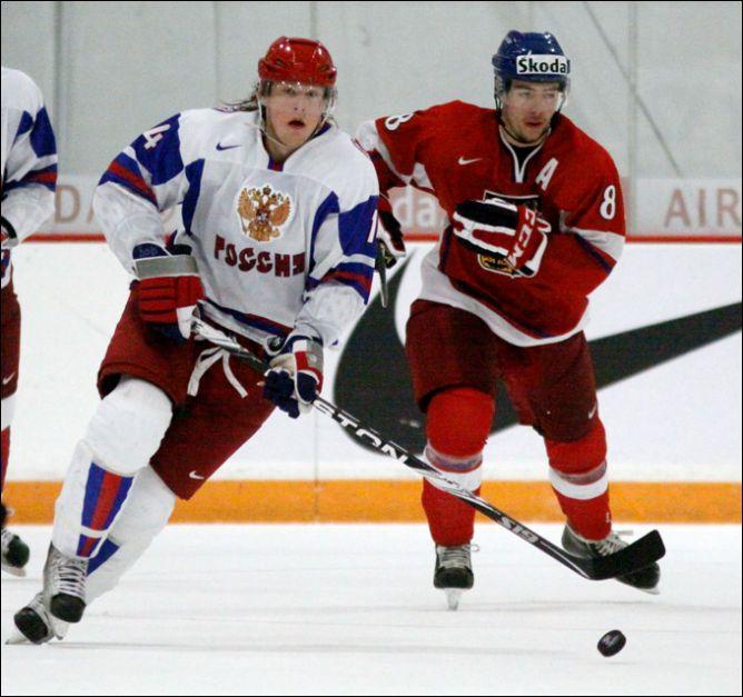 31 декабря 2010 года. Ниагара. Молодежный чемпионат мира. Чехия - Россия - 3:8.