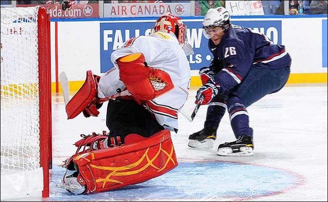 31 декабря 2010 года. Ниагара. Молодежный чемпионат мира. США - Швейцария - 2:1.