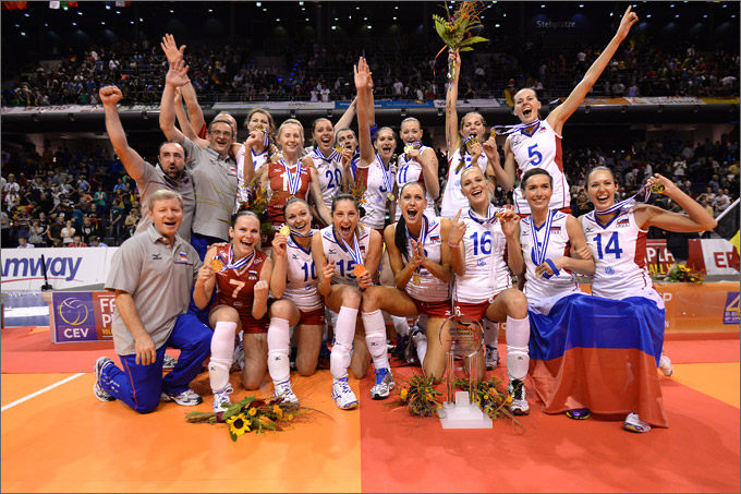 Сборная России — победитель чемпионата Европы-2013