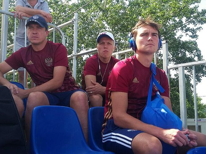 Сборная России заранее прибыла на матч с Португалией