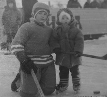 Равиль и Денис Гусмановы в детстве
