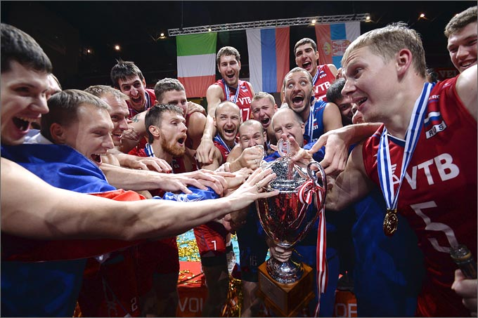 Сборная России — чемпион Европы-2013
