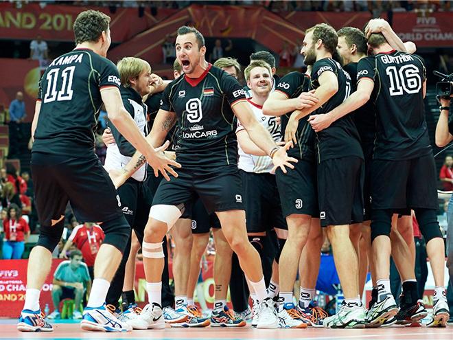 Сборная Германии выиграла бронзовые медали