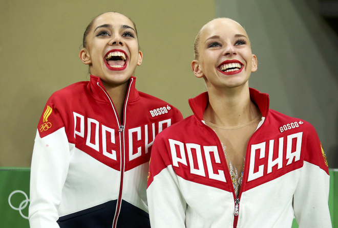 Маргарита Мамун и Яна Кудрявцева